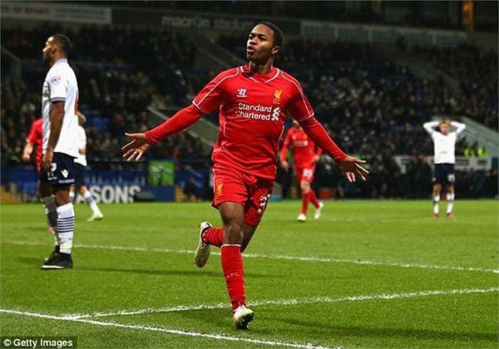 Sterling cũng là 1 nhân vật đáng chú ý bậc nhất. Man City đã đưa ra 2 lời đề nghị nhưng có lẽ Liverpool chỉ đồng ý với mức giá 50 triệu bảng