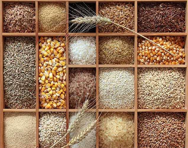 Tất cả các loại  hạt: tiêu thụ ngũ cốc nguyên hạt là một phần của chế độ ăn uống để tác động đến huyết áp một cách tích cực nhất.