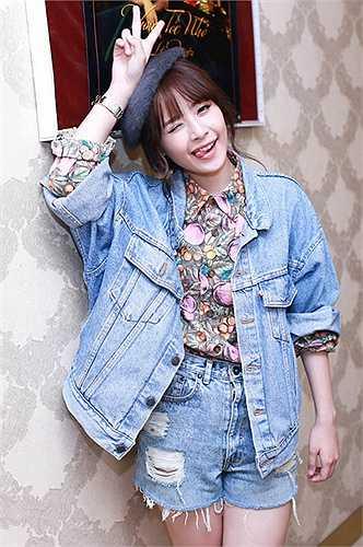 Hình ảnh dễ thương của Chi Pu