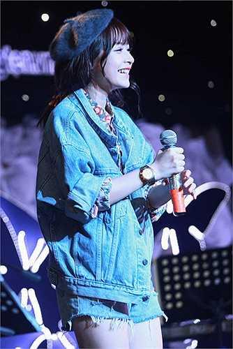 Trong bữa tiệc, Chi Pu đã hát tặng fan ca khúc My Everything của Tiên Tiên