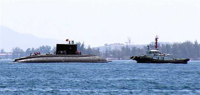 Chiếc Kilo lớp 636 thứ tư, nằm trong hợp đồng Việt Nam ký kết với Nga năm 2009, gồm 6 chiếc trị giá gần 2 tỷ USD, đưa về nước để xây dựng lực lượng hải quân chính quy, nâng cao năng lực bảo vệ biển đảo Tổ quốc.