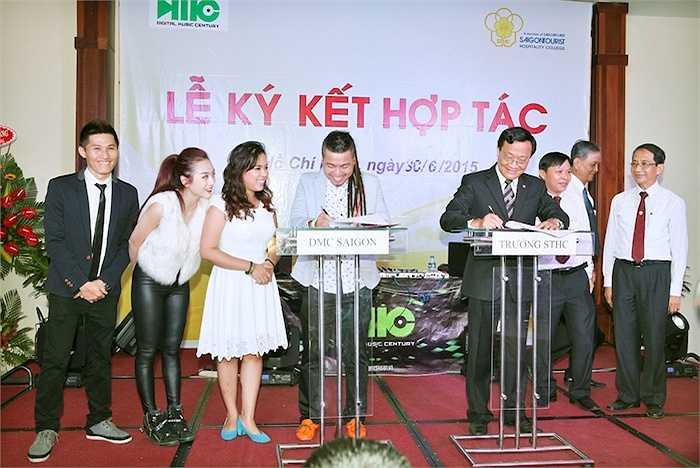 Các lĩnh vực được công bố là giáo dục, cung cấp đội ngũ DJ lành nghề phục vụ cho hệ thống của Saigontourist và khách sạn, nhà hàng, trung tâm hội nghị tiệc cưới, resort, tàu du lịch 5 sao…