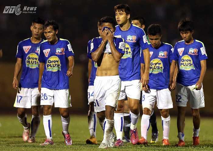 HAGL thua trắng 0-2. (Ảnh: Quang Minh)