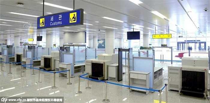 Khu vực check-in rất tiện nghi đã sẵn sàng đón hành khách