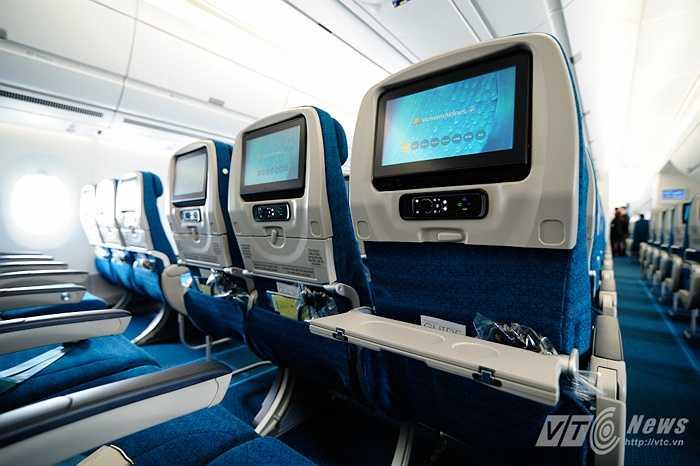 Người dùng thoải mái sử dụng trong những chuyến bay dài