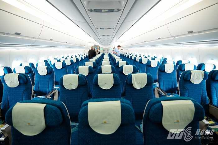 Khoang khách rộng rãi của A350-900 XWB