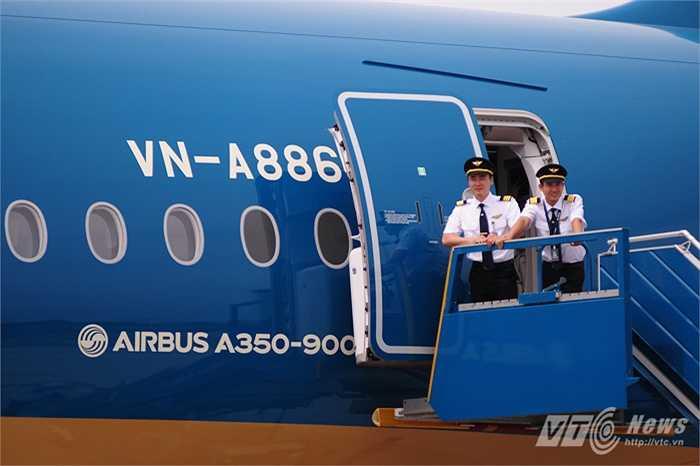 Vietnam Airlines là hãng hàng không thứ 2 trên thế giới sử dụng A350-900 XWB (Tùng Đinh/Thực hiện)