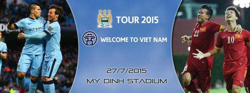 Man City qua Việt Nam là để nghỉ mát, mua vui?