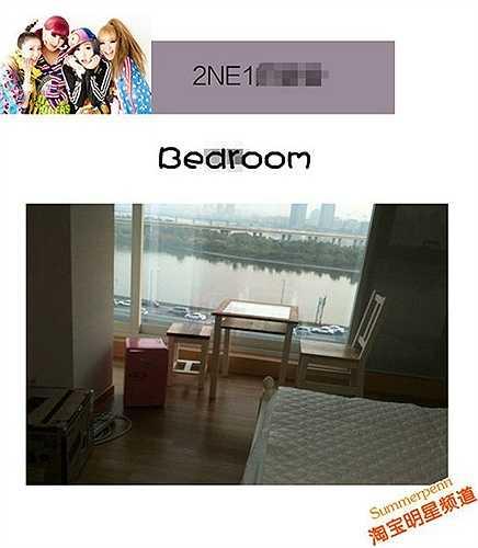 Phòng ngủ có hướng nhìn ra sông Hàn của bốn cô nàng cá tính trong nhóm nhạc 2NE1 là niềm mơ ước của nhiều người.