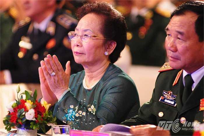 Phó Chủ tịch nước Nguyễn Thị Doan hoan nghênh những chia sẻ từ các chiến sỹ