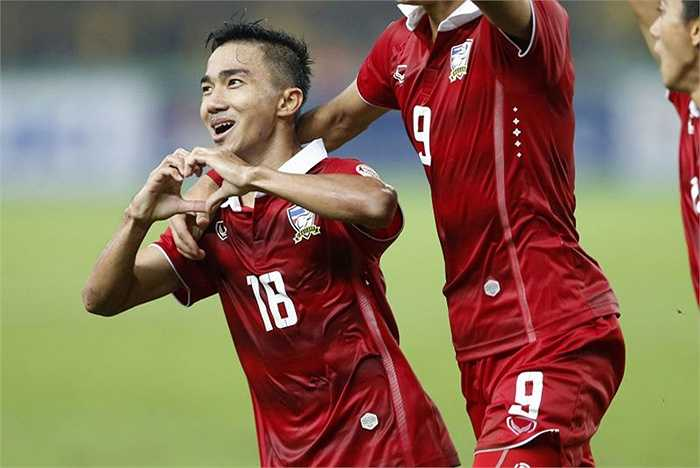 Chân chuyền chủ lực của ĐT Thái Lan phải nghỉ  thi đấu ít nhất 2 tháng. (Hà Thành)