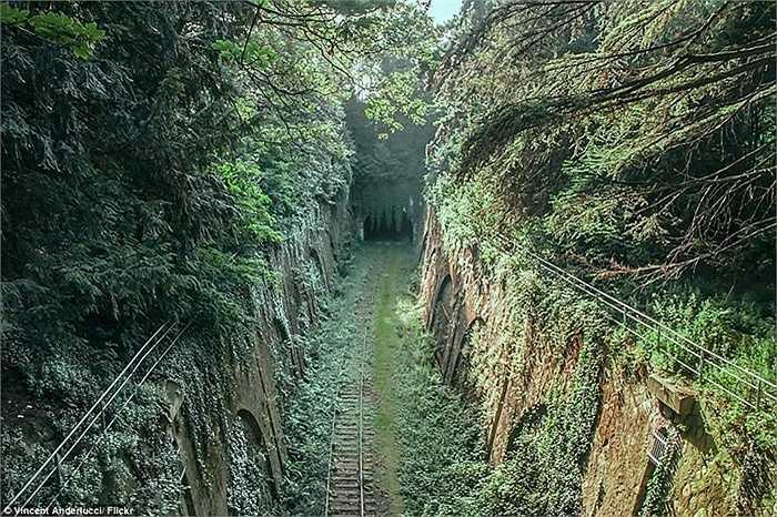 Chemin de fer de Petite Ceinture - đoạn đường sắt dài 32km được sử dụng trong cuộc cách mạng công nghiệp Pháp. Hiện nay, công trình này vẫn bị bỏ hoang