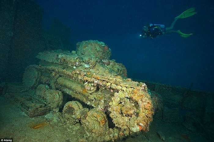 Hàng chục tàu chiến bị đánh chìm ở Đông Nam Micronesia hàng chục năm nay