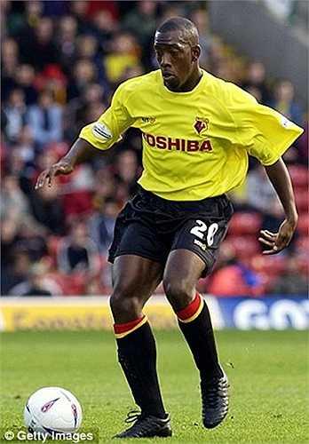 Lloyd Doyley trung thành với Watford từ năm 2001