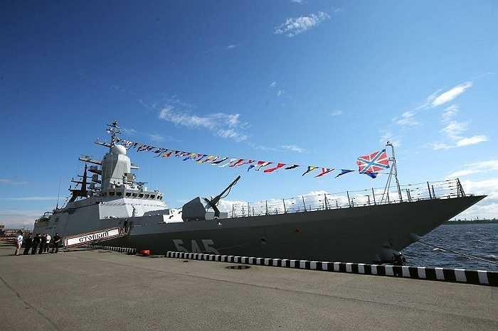 Tàu hộ tống tàng hình Stoiky tham dự triển lãm