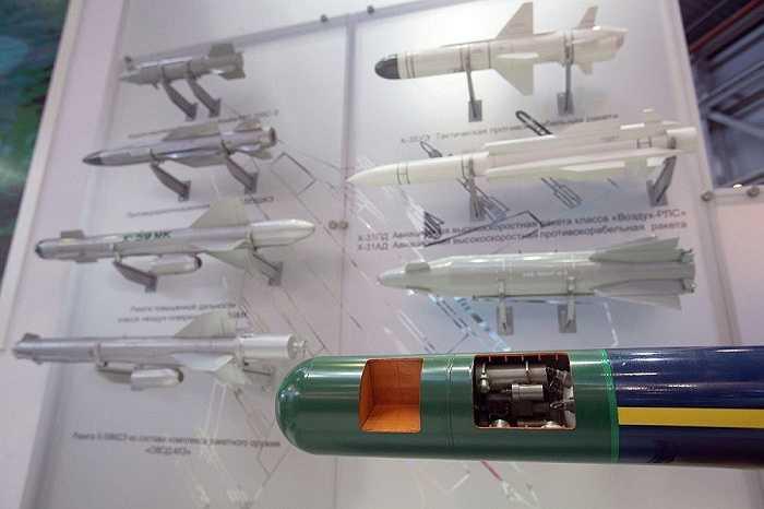 Gian hàng của Tập đoàn Vũ khí tên lửa chiến lược