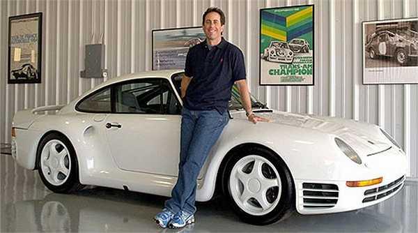 Những chiếc Porches ấn tượng mà Jerry sở hữu như 1949 Porsche 356/2, 1944 Porche 550 Spyder, 1955 Porche 550 RS, 1970 Porche 911S, Porche Boxter, 1964 Porche 911…