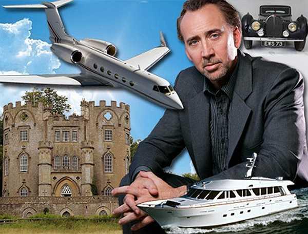 Ngoài thú sưu tầm xe hơi, Nicolas còn có đam mê với nhiều chủng loại như du thuyền, máy bay phản lực, biệt thự và vật nuôi kỳ lạ khác.