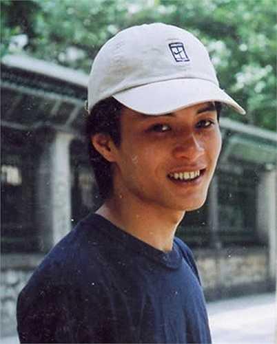 Hình ảnh khác lạ của mỹ nam của màn ảnh Việt - Hồng Đăng - thuở mới vào nghề. Ảnh: FBNV.
