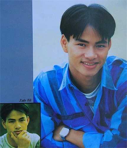 Diễn viên hài Xuân Bắc thời trai trẻ cũng 'mê' mốt tóc bổ luống.