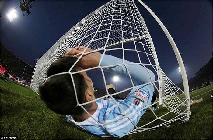 Messi dù rất nỗ lực nhưng không mang lại kết quả