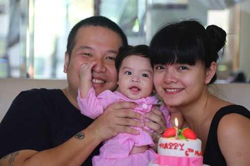 Vượt qua bệnh tình, Quỳnh Anh đang có cuộc sống hạnh phúc bên chồng và con gái