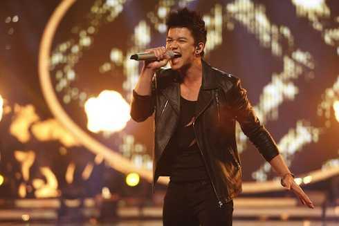 Trọng Hiếu nóng bỏng khiến Thu Minh 'khó thở' khi hát hit Animals