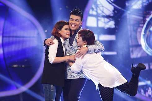 Vân Quỳnh chia tay Vietnam Idol.