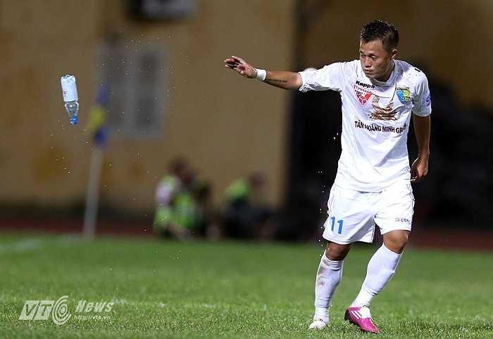 Và đó cũng là bàn thắng ấn định tỷ số 2-0 cho Hà Nội T&T. (Ảnh: Quang Minh)