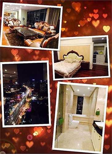 Đây là những góc khác nhau trong căn hộ cao cấp của Hoàng Thùy Linh ở Hà Nội, được cô bạn thân Thanh Vân Hugo chia sẻ hồi giữa năm 2014. Không gian sống của nữ ca sĩ không chỉ hiện đại mà còn có view rất đẹp. Nữ ca sĩ tiết lộ mẹ cô chính là người trợ giúp con gái toàn bộ việc bài trí, decor cho căn hộ này.