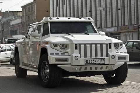 Tiêu chí <a href='http://vtc.vn/oto-xe-may.31.0.html' >xe hơi</a> của các tỷ phú dầu mỏ Nga