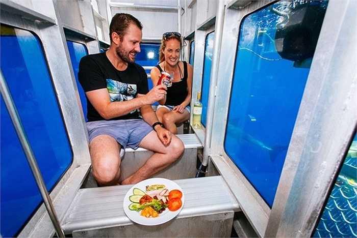 Dịch vụ này do hãng Adventure Bay Charters đưa ra cung cấp cho du khách