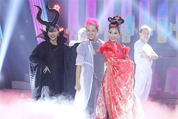 Trong đêm chung kết, Thanh Duy Idol, Liêu Hà Trinh, Khả Như một lần nữa cùng biểu diễn chung tiết mục Tonight vô cùng sôi động trên sân khấu.