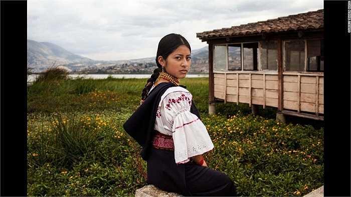 Cô gái Ecuador