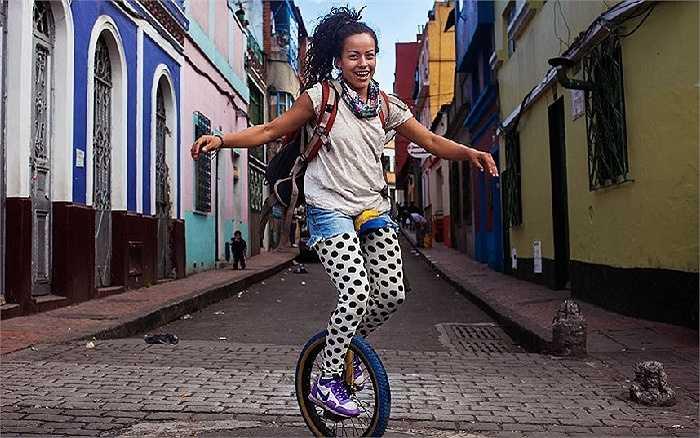 Cô gái xinh đẹp người Colombia