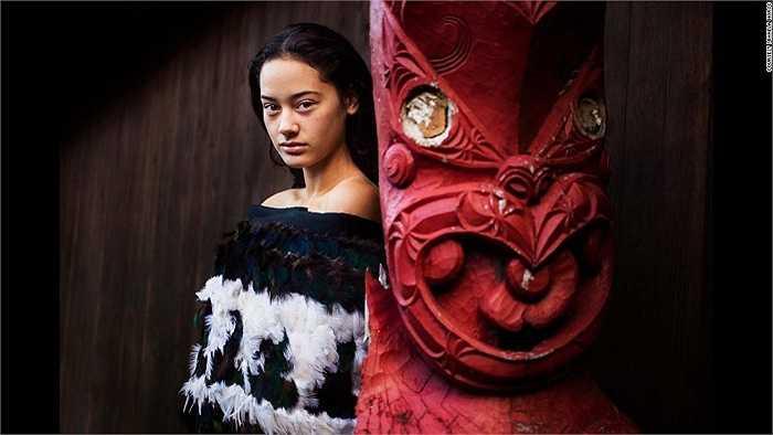 Cô gái New Zealand