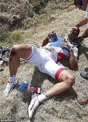 Người bị chấn thương nặng nhất là William Bonnet