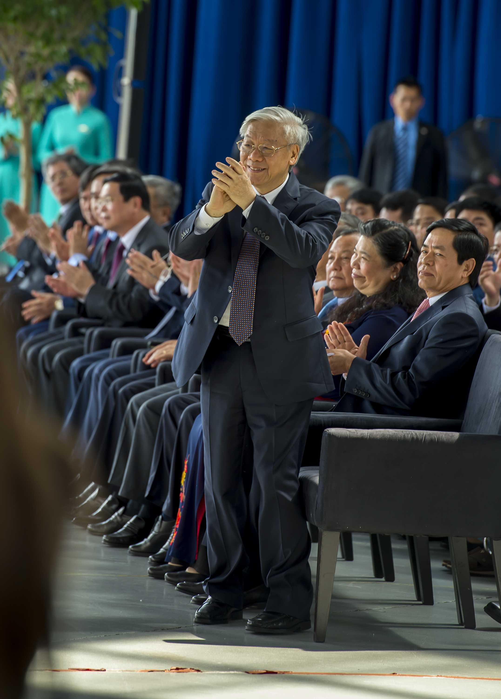 Tổng Bí thư Nguyễn Phú Trọng dự lễ bàn giao máy bay Boeing 787-9 Dreamliner cho Việt Nam