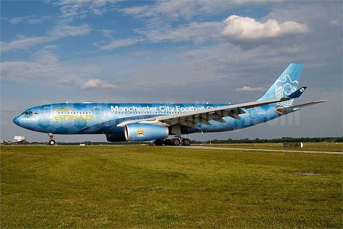 Máy bay chở CLB Manchester City sẽ hạ cánh ở khu V.I.P của sân bay quốc tế Nội Bài - nơi chuyên đón tiếp các nguyên thủ.
