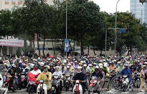 Đà Nẵng, tạm dừng, thu phí, đường bộ đối với mô tô,  xe máy, HĐND