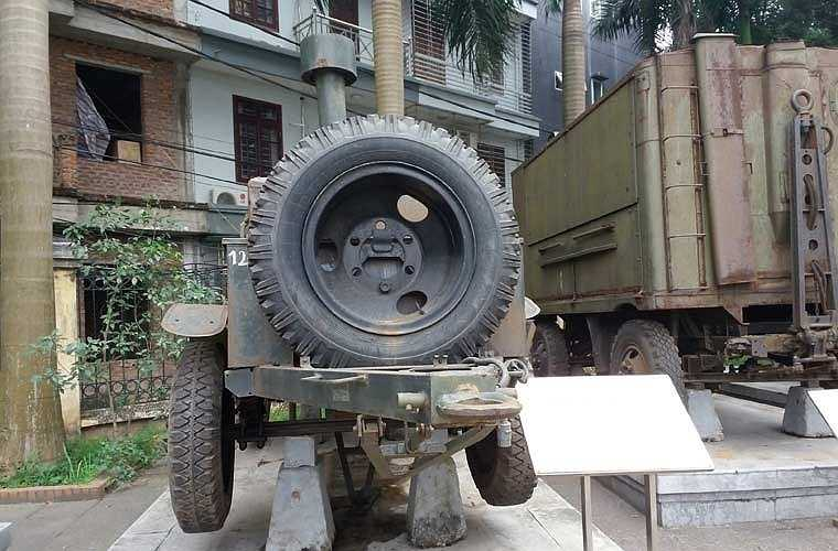 Xe bếp này có thể kéo đi bằng các loại xe vận tải bánh lốp.