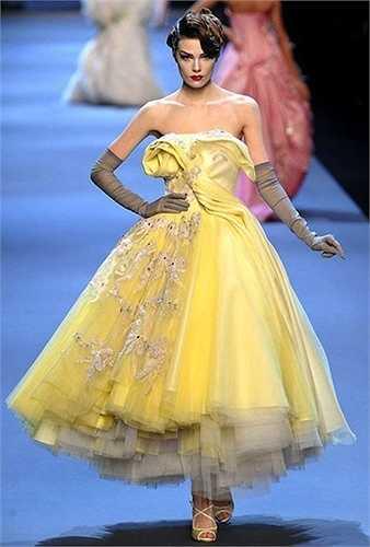 Trang phục này cũng có sự tương đồng với thiết kế Dior Haute Couture 2011.