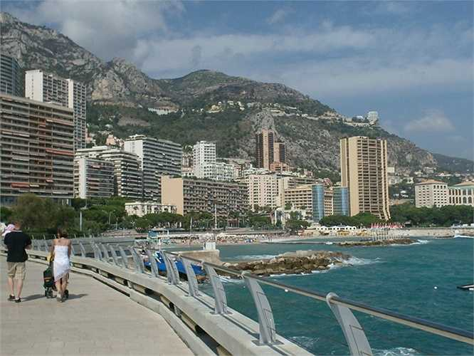 Avenue Princesse Grace, Monaco: Giá bán 100.000 USD/m2. Năm ngoái có căn hộ 3 phòng ngủ được bán với giá 16 triệu USD.