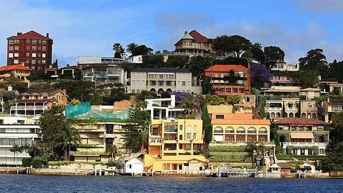 Wolseley Road, Point Piper, Australia: Giá bán 44.000 USD/m2. Năm ngoái từng có căn nhà được bán với giá 130 triệu Đô La Australia
