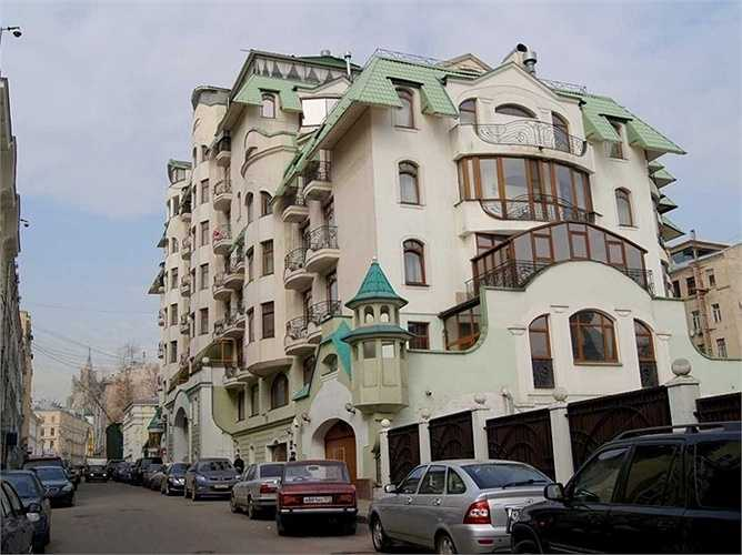 Molochnyy Pereulok, Moscow. Giá bán 30.500 USD/m2. ây là nơi có nhiều căn nhà mới được xây dựng năm 2000