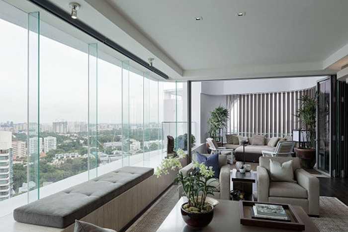 Công viên Ardmore, Singapore. Giá bán 24.000 USD/m2. Con đường này nằm nép mình bên những hàng cây xanh. Tỷ phú sáng lập Alibaba từng tuyên bố mua căn nhà 51 triệu đô la Singapore