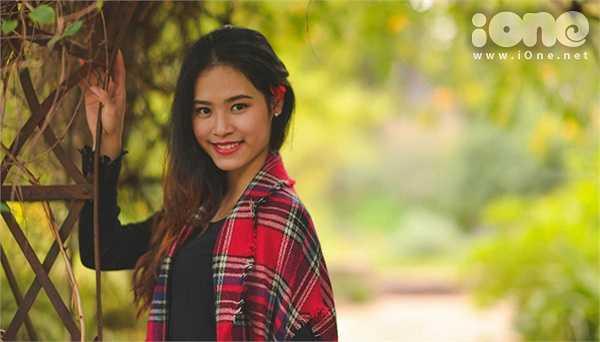 Lệ Mẫn là một trong những gương mặt nổi bật trong cộng đồng du học sinh Việt ở Australia nhờ gương mặt xinh xắn, nụ cười tươi rạng rỡ.