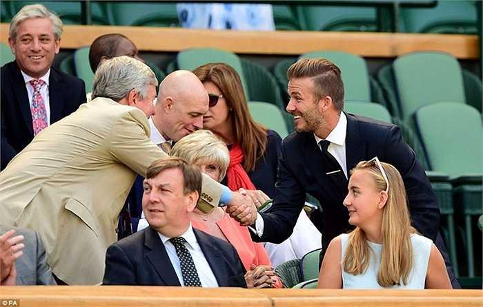 Một số hình ảnh khác của David Beckham