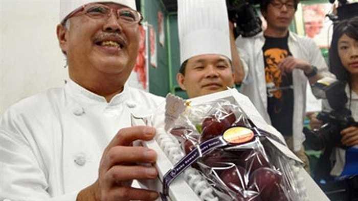 Masayuki Hirai- Bếp trưởng khách sạn Nikko Kanazawa là người dành chiến thắng trong cuộc đấu giá