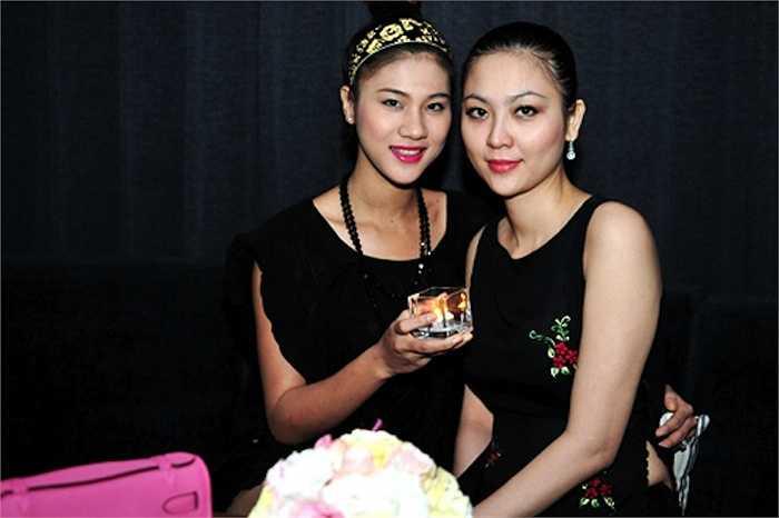 Một trong những lần Hoa hậu Việt Nam 2000 xuất hiện tại sự kiện.  (Trung Ngạn)